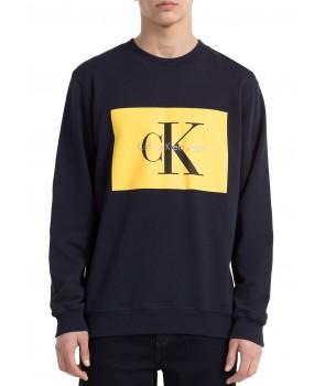 Calvin Klein pánské mikina 41F5336 šedá