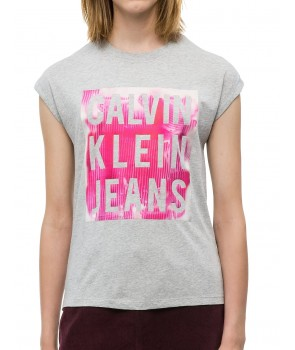 Calvin Klein dámské tričko 5607P crystal pink