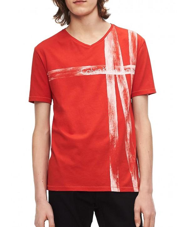 Calvin Klein pánské tričko 41H5929 indigo