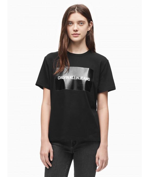 0cc9f2219014 Calvin Klein dámské tričko 0180 černé - usafashion.cz