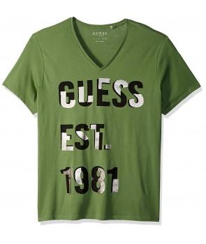 Guess pánské tričko Dexter Logo černé