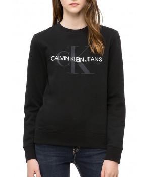 Calvin Klein dámská mikina VINTAGE LOGO SWEATSHIRT černá 42MK978