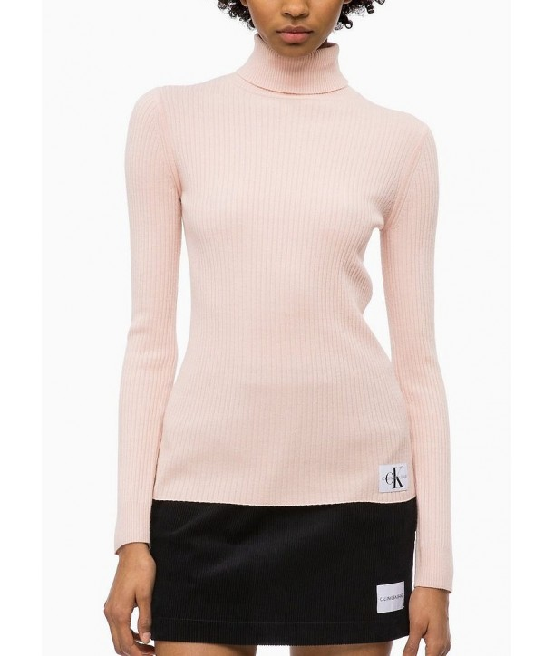 Calvin Klein dámský svetr Stony logo