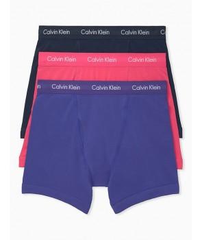 Calvin Klein 3 kusy trenýrky boxerky Classic Fit bavlněné Stretch 618