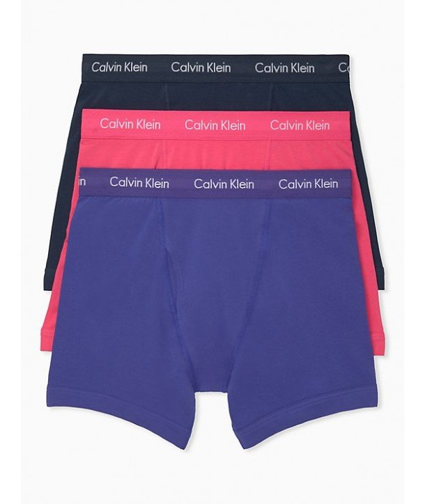3e1a6e419d Calvin Klein 3 kusy trenýrky boxerky Classic Fit bavlněné Stretch ...