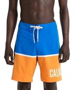 Calvin Klein pánské kraťasy plavky E6081 světle modré