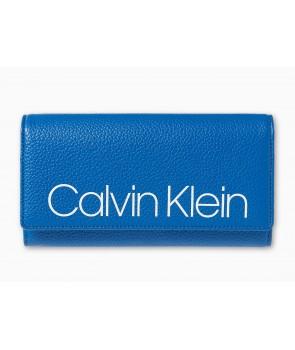 Calvin Klein dámská peněženka Long wallet černá 7827