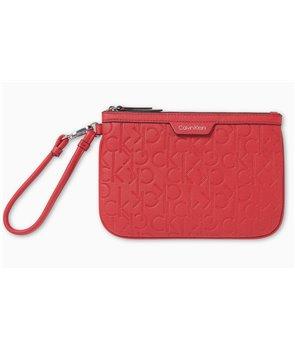 Calvin Klein dámská kabelka malá jacquard red