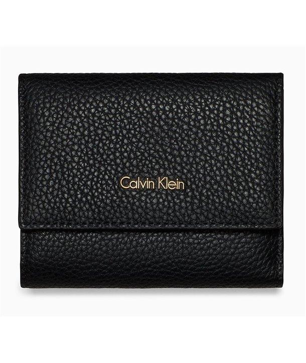 Calvin Klein dámská kožená Triflod clutch