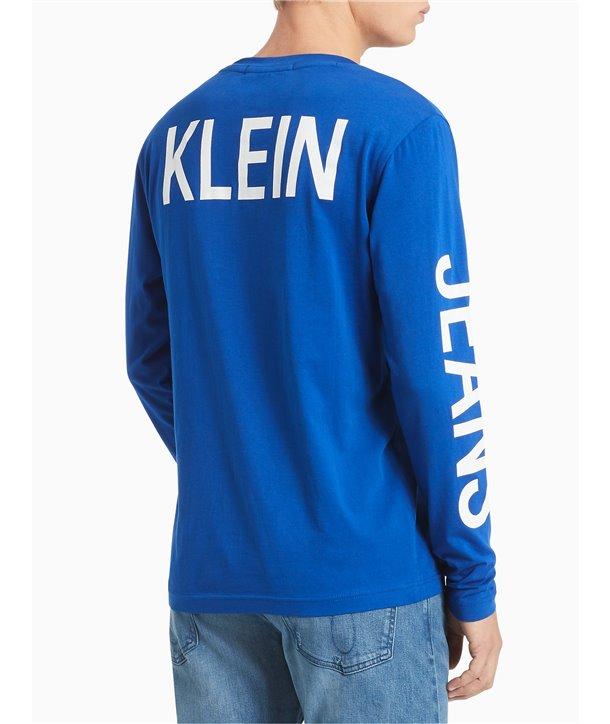 Calvin Klein pánské tričko iconic 55414 navy