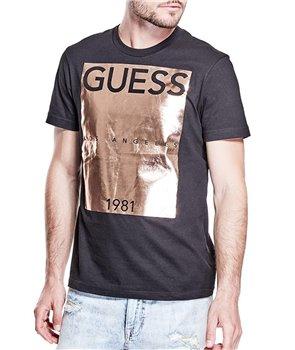Guess pánské tričko Alvaro červené