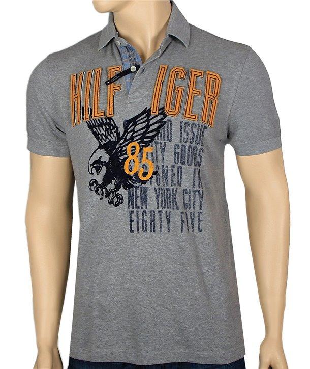 TOMMY HILFIGER pánské polo tričko CUSTOM FIT C8878.475