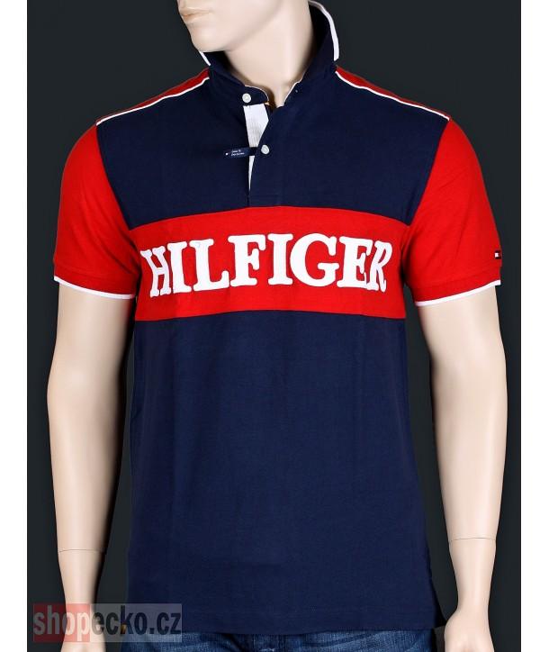 TOMMY HILFIGER originální pánské polo tričko CUSTOM fit 8878.475