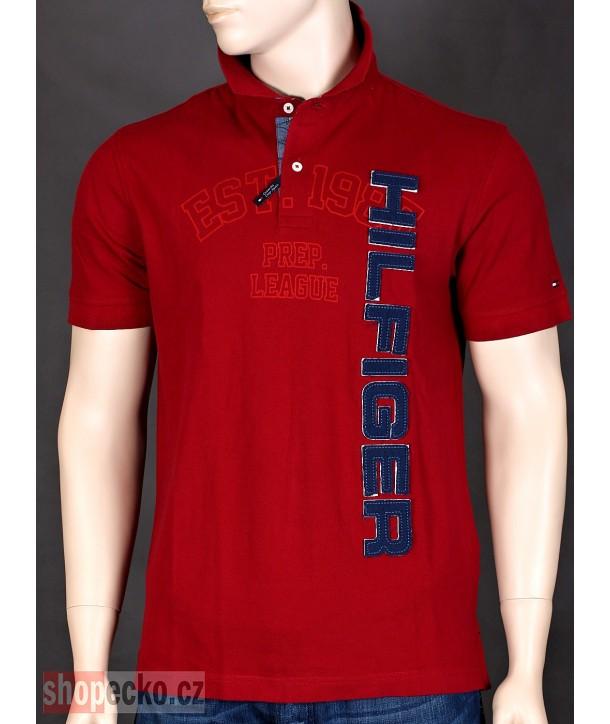 TOMMY HILFIGER originální pánské polo tričko CUSTOM fit 8878.605