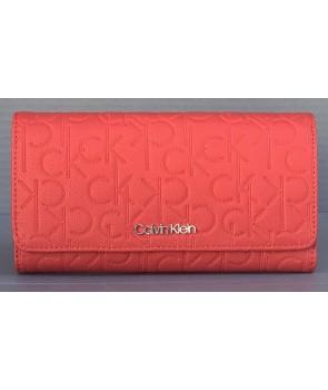 Calvin Klein dámská peněženka Long wallet červená 839