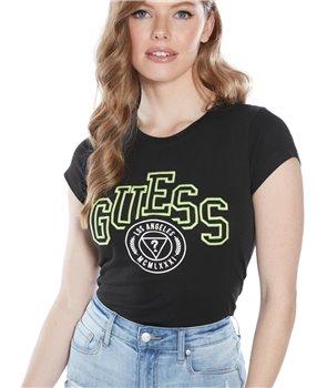 Guess dámské tričko Gizelle tee šedé