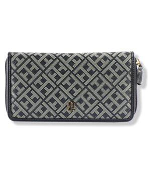 Tommy Hilfiger dámská peněženka zip jacquard 146-113