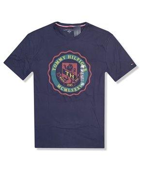 Tommy Hilfiger pánské tričko modré iconic