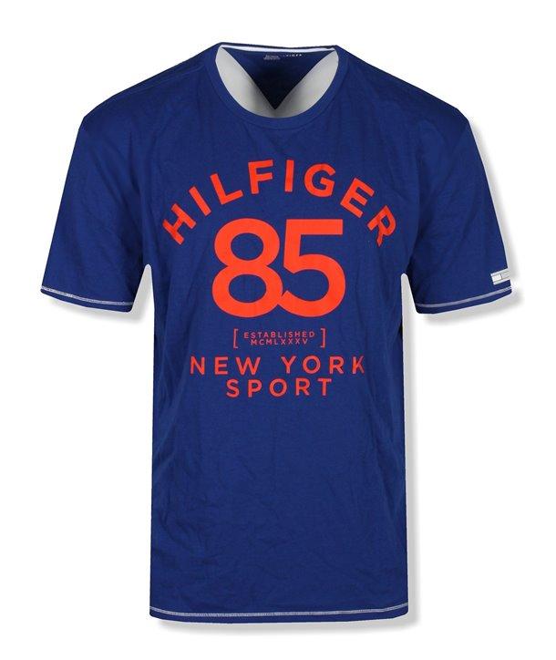 Tommy Hilfiger pánské tričko černé Graphics 625-065