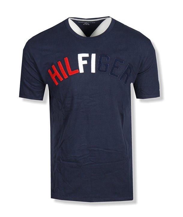 Tommy Hilfiger pánské tričko Graphics tmavě modré 623-416