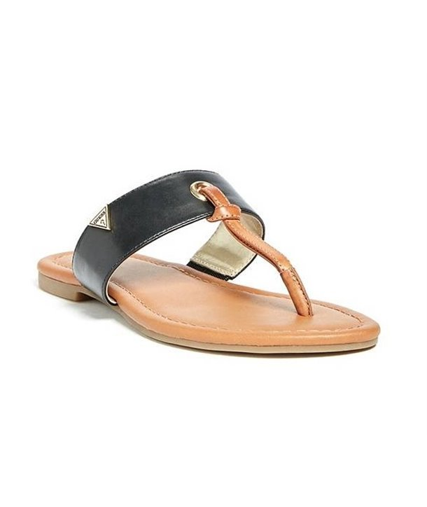 Guess dámské žabky sandály DURING bílé