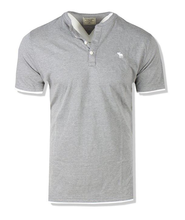 Abercrombie & Fitch pánské Polo tričko 0060-023 tmavě modré