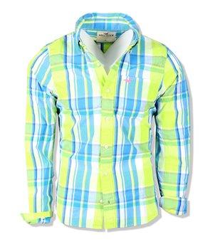 Hollister pánské tričko multi bílé 1654-001