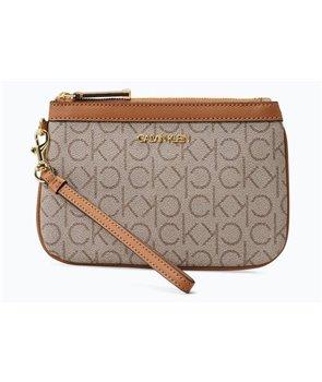 Calvin Klein dámská kabelka příruční CK MONOGRAM COLORBLOCK jacqurd wht